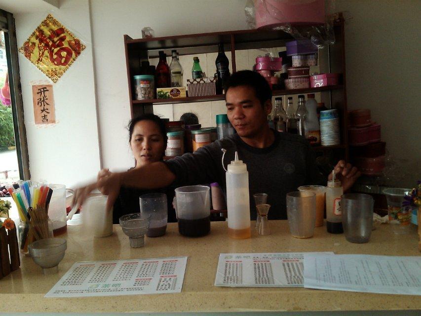 广西南宁学做奶茶的地方