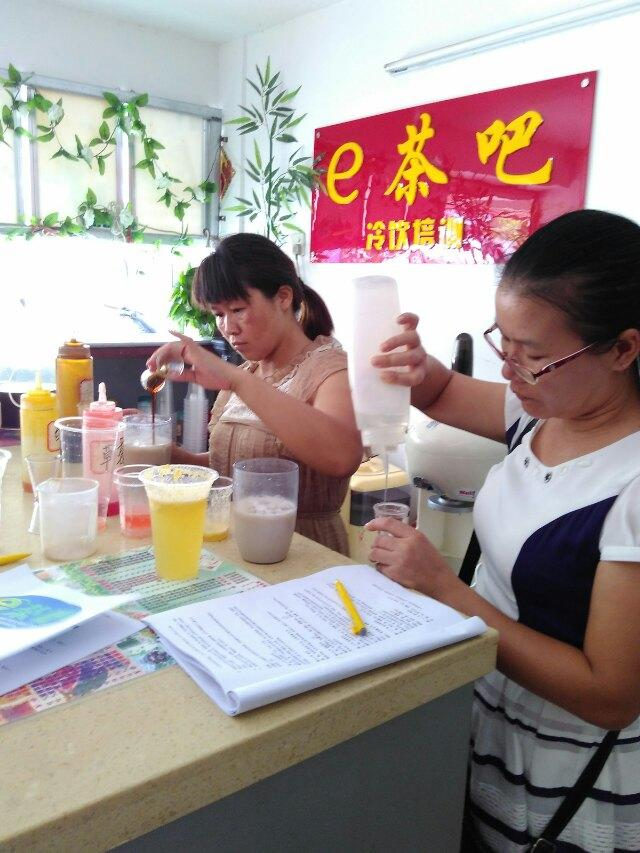 河池奶茶培训/广西河池奶茶培训